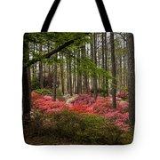 Colorful Woodland Azalea Garden Tote Bag