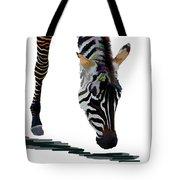 Colorful Zebra 2 Tote Bag