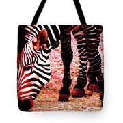 Colorful Zebra - Buy Black And White Stripes Art Tote Bag