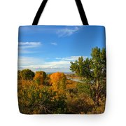 Colors Along The Colorado Tote Bag