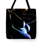 Colors And Curves Tote Bag
