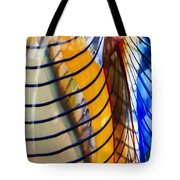 Colors And Lines Tote Bag