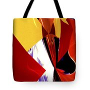 Colors And Shapes Tote Bag
