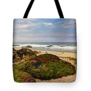 Colors And Texures Of The California Coast Tote Bag