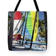 Key West Sail Colors Tote Bag