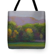 Colors By The Tracks Tote Bag