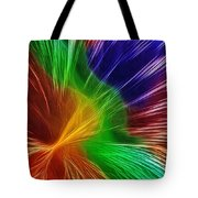 Colors Lines And Textures Tote Bag