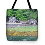 Colors Of Alaska - Layers Of Greens Tote Bag