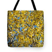 Colors Of Autumn - Yellow - Featured 3 Tote Bag