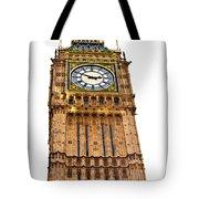 Colors Of Big Ben Tote Bag