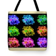 Colors Of Cactuses Tote Bag