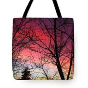 Colors Of Dusk Tote Bag