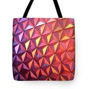 Colors Of Epcot Tote Bag