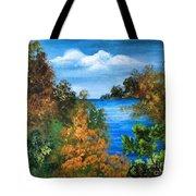 Colors Of Fall Tote Bag