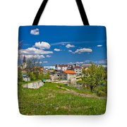 Colors Of Gospic Capital Of Lika Tote Bag
