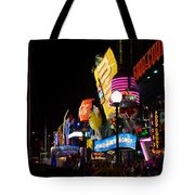 Colors Of Las Vegas Tote Bag
