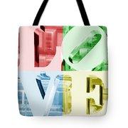 Colors Of Love Philadelphia Pa Tote Bag
