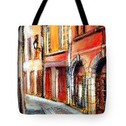 Colors Of Lyon 3 Tote Bag