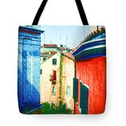 Colors Of My Village Tote Bag