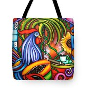 Colors Of My World Tote Bag