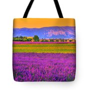 Colors Of Provence Tote Bag