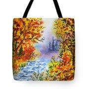 Colors Of Russia Autumn  Tote Bag by Irina Sztukowski
