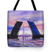 Colors Of Russia Bridges Of Saint Petersburg Tote Bag