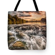 Colors Of Summer Tote Bag by Davorin Mance