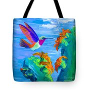 Colors Of The Desert Tote Bag