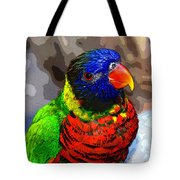 Colors Of The Lorikeet Tote Bag