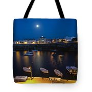 Cala Corb In Es Castell - Minorca - Colors Of The Moonlight   Tote Bag