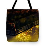 Colors Of The Sound Gold Tote Bag
