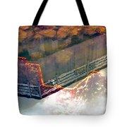 Colors Of The Sound Orange Tote Bag