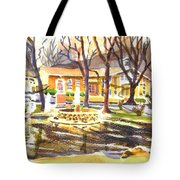Colors On A Cloudy Day Tote Bag