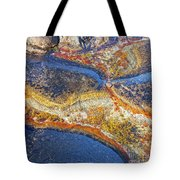 Colors On Rock I Tote Bag