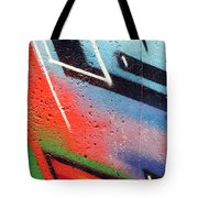 Colors On The Wall Tote Bag