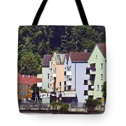 Colorul Houses In Germany Tote Bag