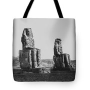 Colosses Of Thebes - 1851 Tote Bag by Daniel Hagerman
