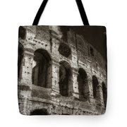 Colosseum Wall Tote Bag
