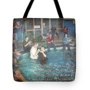 Colossians 2 12 Tote Bag