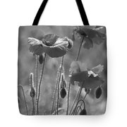 Colour Blind Poppies 1 Tote Bag