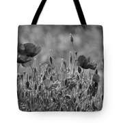 Colour Blind Poppies 2 Tote Bag