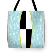 Colour Block Surfboard Tote Bag