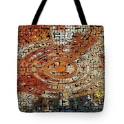 Color Exploded Tote Bag