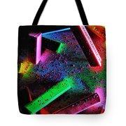 Coloured Chalks  Tote Bag