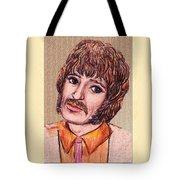 Coloured Pencil Portrait Tote Bag