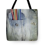 Coloured Pencils Tote Bag
