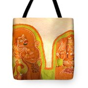 Coloured Reliefs Tote Bag
