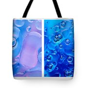Colourful Bubble Abstract Quadriptych Tote Bag