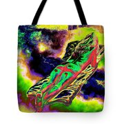 Colourful Journey In The Land Of Books Tote Bag